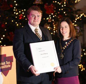 Irish Tax Institute, Hunt Scholarship 2018 Award Winner – Liam O'Flaherty.
