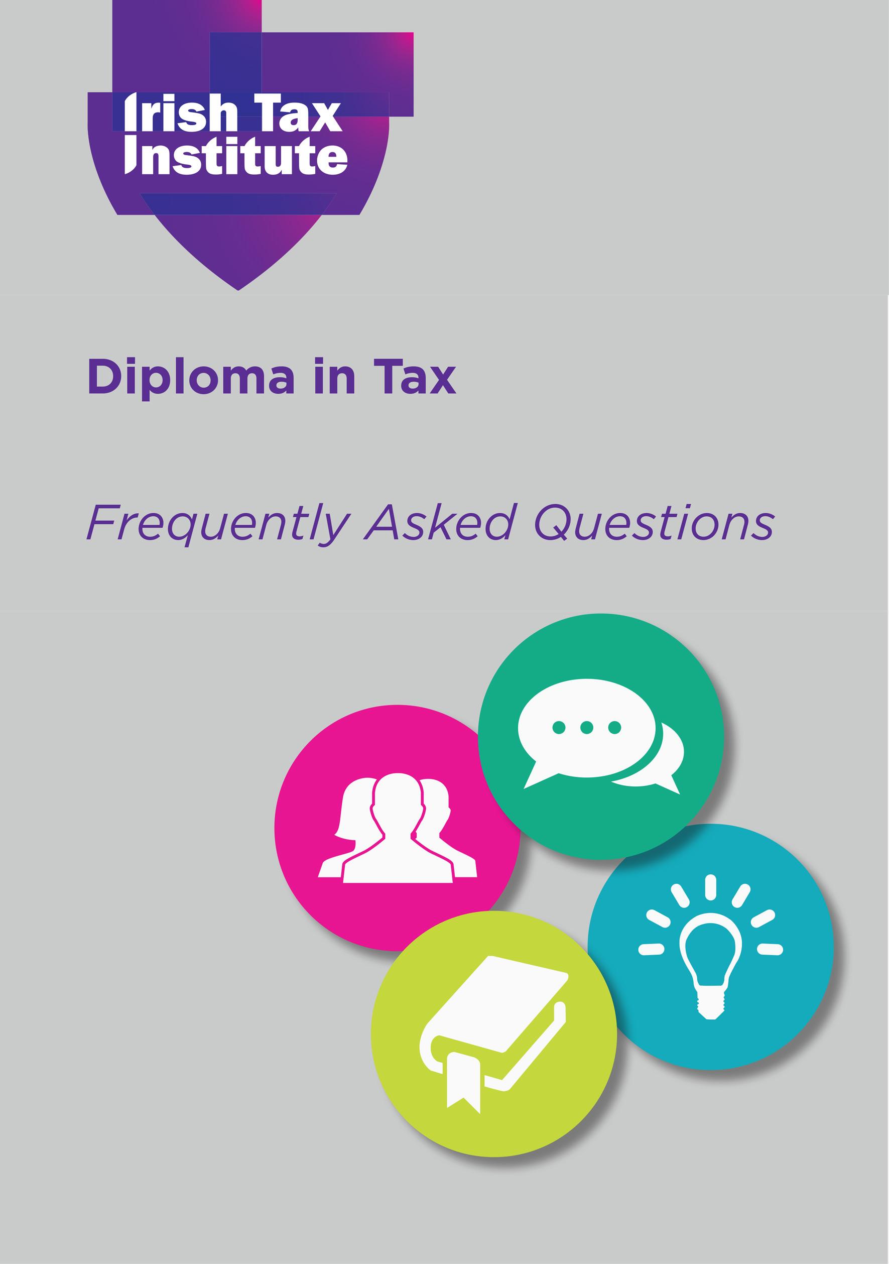 Factsheet on Diploma in Tax